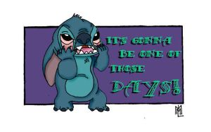 One of those Days- Stitch by Atellix