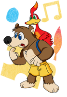 Banjo and Kazooie by KaraszKun