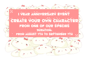 CLOSED - 1 Year Anniversary EVENT by Piffi-adoptables