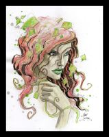 Girl in ivy 3 by Gary Shipman by G-Ship
