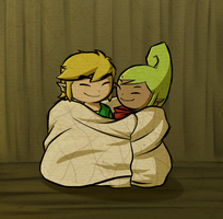 TeLink: Cozy Blanket by Icy-Snowflakes