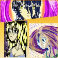 My first 3 digital drawings by mirimitosa