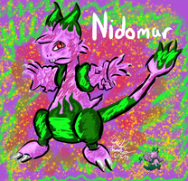 Nidomar (Pokemon Fusion) by ChiefLucarioOfficer