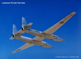 Lockheed YU-12A Twin Star by Bispro