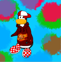 Club Penguin Drawing Request: Ezjr by Little0rca