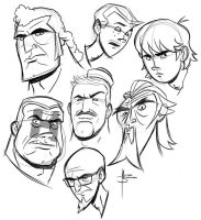 Venture Bros. Warm Up 2 by MBorkowski