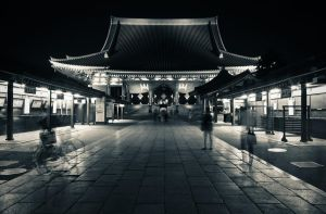 Senso-ji, Night Activities II by carlos170691