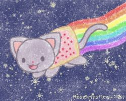 Pop Tart Cat by Rosa-Mystical