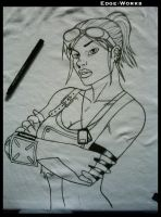 Fallout t-shirt - WIP 2 by Edge-Works
