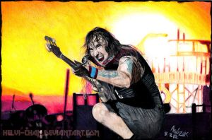 THE TROOPER. Steve Harris by Red-Szajn