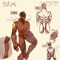S.A.M. I AM by Rockinyourbrainoff