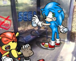Sonic in the City by KaiThePhaux