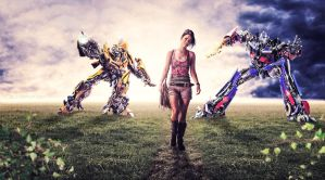 Megan Fox_Transformers - Wallpaper by DexterAdriano
