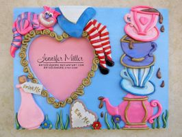 Alice in Wonderland Frame by ArteDiAmore