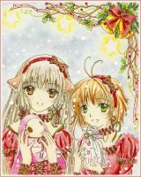 Merry X-mas by Clamp-fanclub