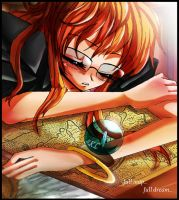 OP.sleeping nami by bekacca