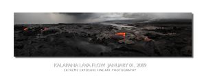 Kalapana Lava Flow 5 by extremeimageology