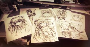 Anime Drawings~ by MaryM8D