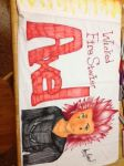 Axel Pillowcase by XFunkFoxX