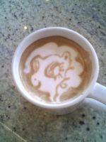 Pinkie Pie Latte by CappuccinoFrosting