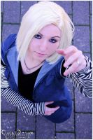 Android 18 by xXSyneaXx