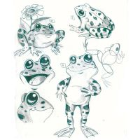 frog characters by barshomy2