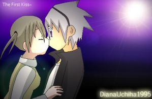 The First Kiss - Soul x Maka by DianaUchiha1995