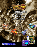 Golden Sun ~ Mexico Promo Poster by crystal-studio