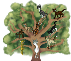 Home page Tree Shinanigins by Bluefire-kitteh