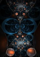 Life within the hour glass by FractalDesire