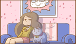 Bee and Puppycat by nasakii