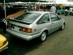 Toyota AE86 Corolla GT-S rear by Mister-Lou