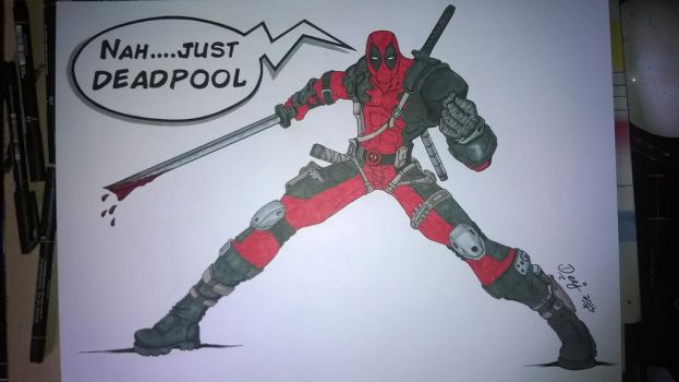 Nah..just Deadpool by TheD33J