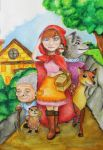 Little red riding hood by NKhope