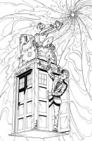 Dr Who/Tankgirl Commish by paulabstruse