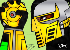 Cyrax - The Cyborg by Tutan-Koopa