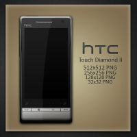 HTC Touch Diamond II Icon by Robsonbillponte666