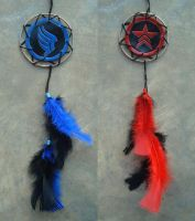 Paragon and Renegade Dream Catchers 2 by RebelATS
