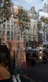 Reflections of Paris 1 by 2Stupid2Duck