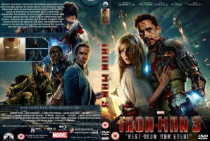 Iron Man 3 dvd V2 by superjabba425