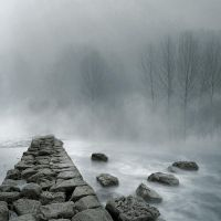 Premade Foggy 02 - Version 2 by desideriasp-stock