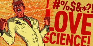 I LOVE SCIENCE Poster by PaulSizer