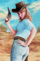Cat Ballou by Pevansy