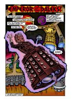 'Emperor of the Daleks!' -  First Page Colourised by Cotterill23