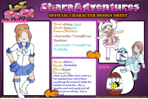 Chara Adventures Application by Crystal-Asylum