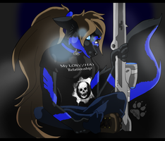 Wolfy - Never Piss Off a Sniper by SlaveWolfy