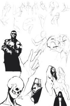 36/285 Sketches by IamDeathskull