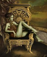 The Throne by lornah