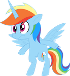.:Princess RainbowDash:. by Mishti14