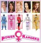 Power Rangers - Female Rangers only series by DoctorWhoOne